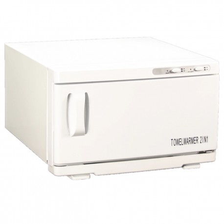 Compact towel warmer and sterilizer