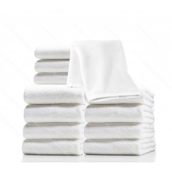 Microfiber facial towels (12)