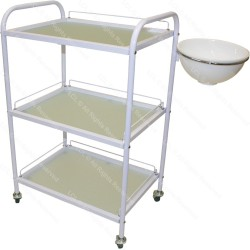 Glass trolley