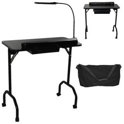 portable manucure table